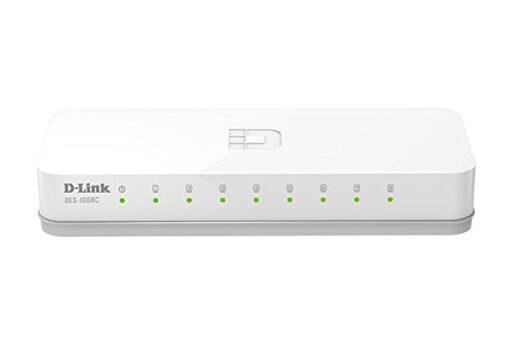 Switch Dlink DES-1008C 8-Port