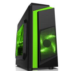 CASE SAMA E-Sport F2 Black - Green