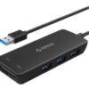 Bộ chia USB 3.0 tích hợp thẻ nhớ Orico H3TS-U3