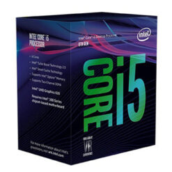 CPU Intel Core i5 8500 3.0Ghz Turbo Up to 4.1Ghz / 9MB / 6 Cores, 6 Threads / Socket 1151 v2 (Coffee Lake)