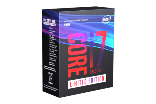 CPU Intel Core i7 8086K 4.0 Ghz Turbo Up to 5.0Ghz / 12MB / 6 Cores, 12 Threads / Socket 1151 v2 (Coffee Lake )