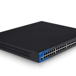 LINKSYS LGS552P 52-PORT MANAGED BUSINESS GIGABIT POE+ SWITCH