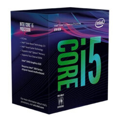 CPU Intel Core i5 8600 3.1 Ghz Turbo Up to 4.3Ghz / 9MB / 6 Cores, 6 Threads / Socket 1151 (Coffee Lake)