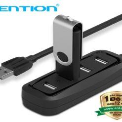 Bộ chia cổng Vention USB 2.0 1 ra 4 port 0.5m