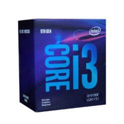 Chíp vi xử lý INTEL Coffee Lake Core i3 9100F 3.6Ghz + Quạt