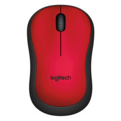 Chuột không dây Logitech M221- Màu Đỏ