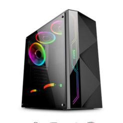 CASE Sama Baroco Black, RGB -ATX