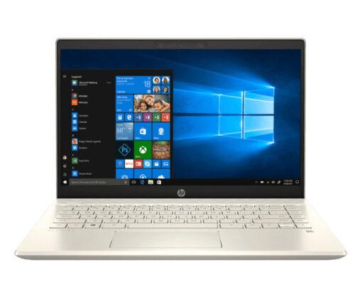 Laptop  HP Pavilion 14-ce3014TU 8QP03PA Gold