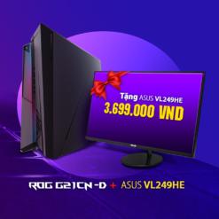 Máy tính để bàn ASUS ROG HURACAN G21 (G21CN-D-VN001T)