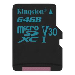Thẻ Nhớ Kingston 64GB microSDHC Canvas Go - SDCG2/64GB