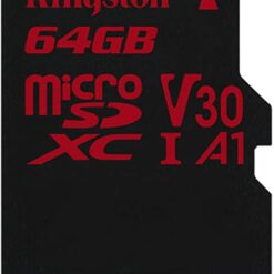 Thẻ Nhớ Kingston 64GB  microSDHC Canvas React - SDCR/64GB
