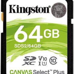 Thẻ Nhớ Kingston 64GB SDHC Canvas Select - SDS/64GB