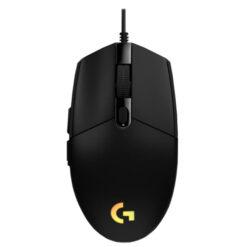 Chuột Gaming Logitech G102 Gen 2 Lightsync- Màu Đen