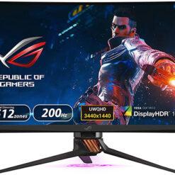 Màn hình ASUS ROG Swift PG35VQ Cong 4K 200Hz G-SYNC HDR Aura Sync