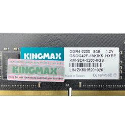 Ram Laptop Kingmax GSOG42F 8GB DDR4-3200MHz (DDR4 So Dimm PC4-25600 8GB 1.2V)