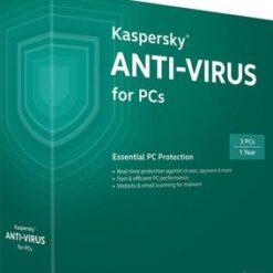 Kaspersky Antivirus 2018 1PC 1 Year