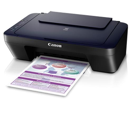 Máy in phun màu đa chức năng Canon E400