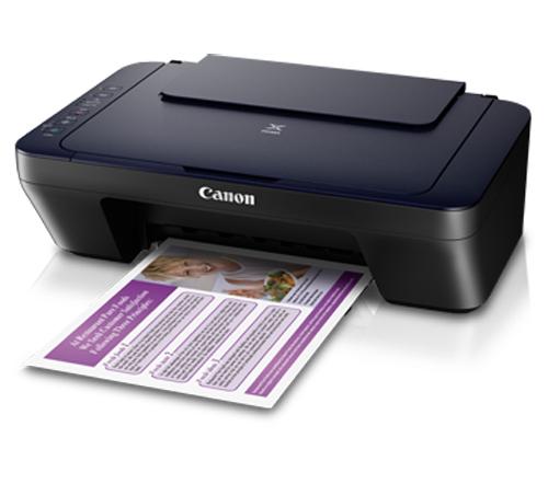 Máy in phun màu đa chức năng Canon E460