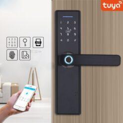 Khóa Cửa Nhôm Wifi Mở Từ Xa Nhà Cho Thuê Tuya SHP-DL7C