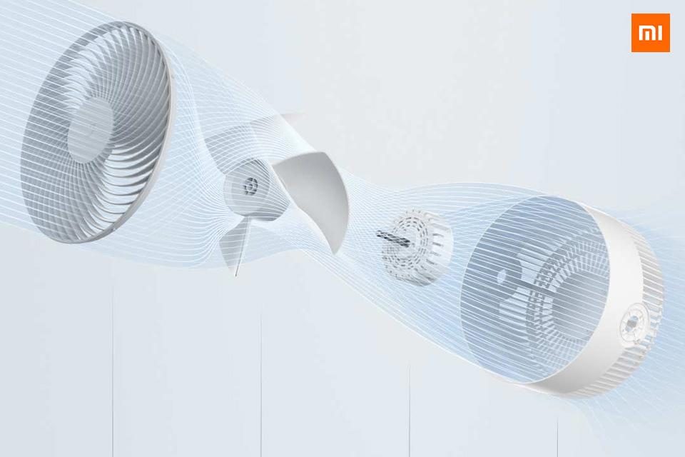 Quạt lưu thông không khí thông minh Miija DC Inverter