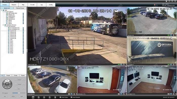Phần mềm quản lý camera Video Monitor Client