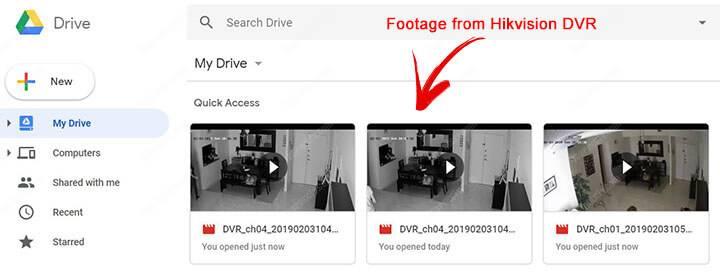 Luu tru Camera len Google Drive