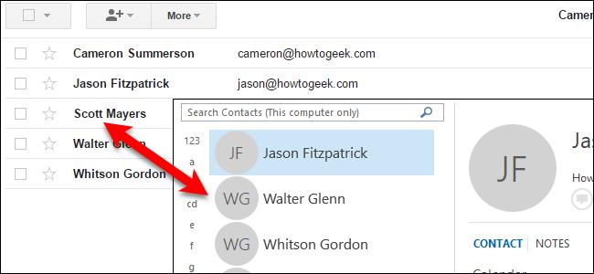 Cách nhập và xuất danh bạ giữa Outlook và Gmail