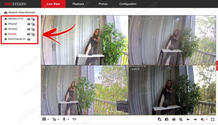 Cách thay đổi tên camera trên Hikvision NVR hoặc DVR